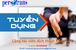 tuyển dụng ctv dịch tiếng anh online