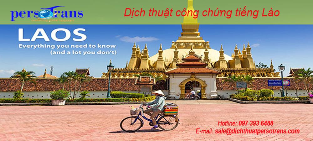 Dịch thuật công chứng tiếng Lào