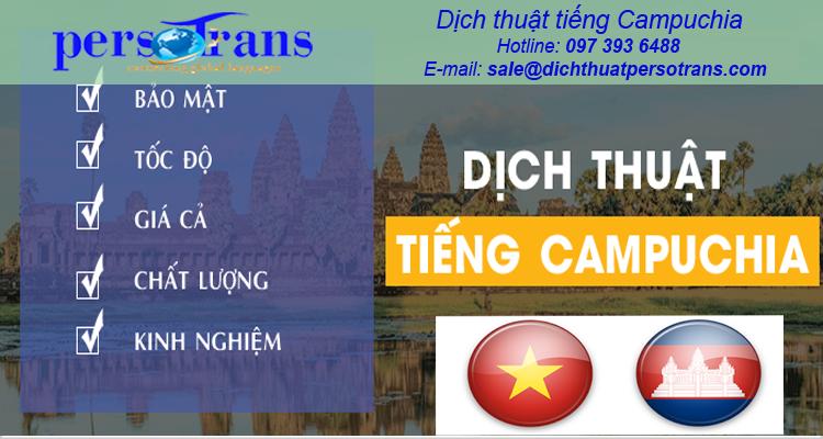 Dịch thuật tiếng Campuchia uy tín tại Persotrans