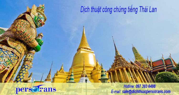Nhu cầu chuyển ngữ và lấy dấu tư pháp tiếng Thái Lan ngày càng tăng cao