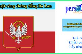 Dịch thuật công chứng tiếng Ba Lan