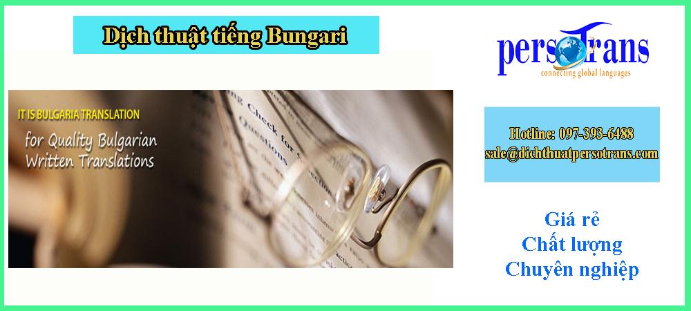 dịch thuật tiếng Bungari