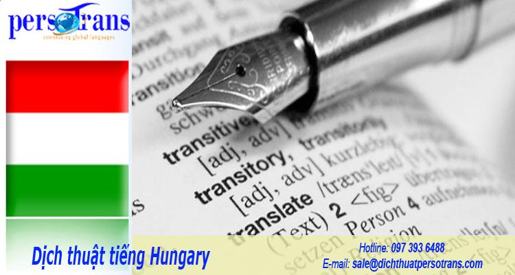 dịch thuật tiếng hungary