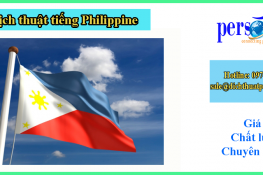 dịch thuật tiếng philippine