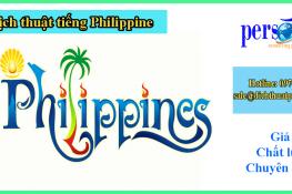 dịch thuật tiếng philippine tại hà nội