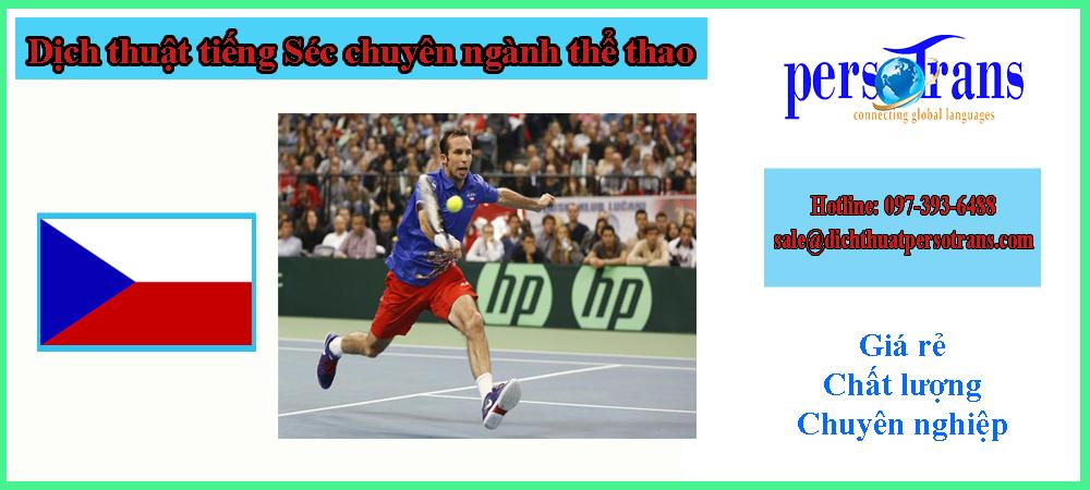 Dịch thuật tiếng Séc chuyên ngành thể thao
