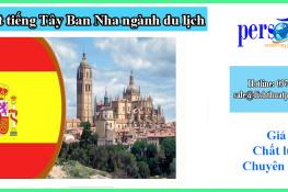 dịch thuật tiếng tây ban nha chuyên ngành du lịch