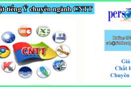 dịch thuật tiếng ý chuyên ngành cntt