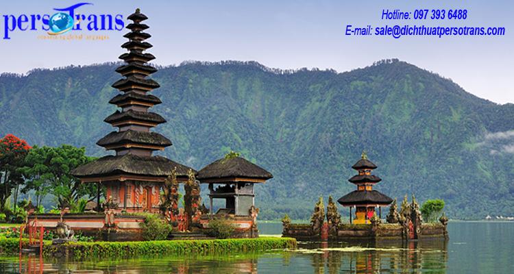 Dịch thuật tiếng Indonesia tại tpHCM