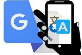 Ứng dụng dịch thuật google translate trên android